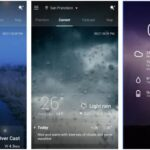 Top 10 best weather widgets apps android/iphone 2018