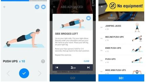 top 10 best workout apps android/iphone 2018