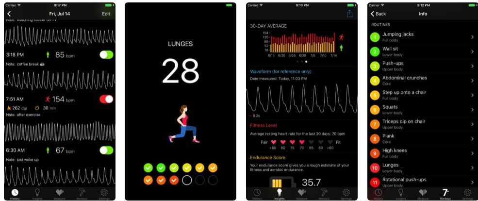 Top 10 best heart rate monitor apps (android/iPhone) 2019