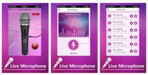 Top 10 best live microphone apps (android/iPhone) 2019