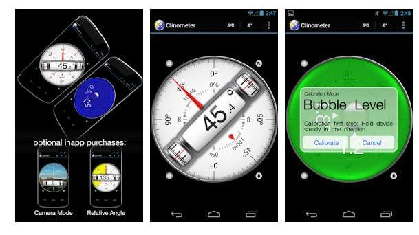 best inclinometer app Andrid/ iPhone