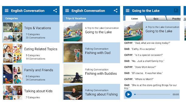 Best English learning app Android/iPhone