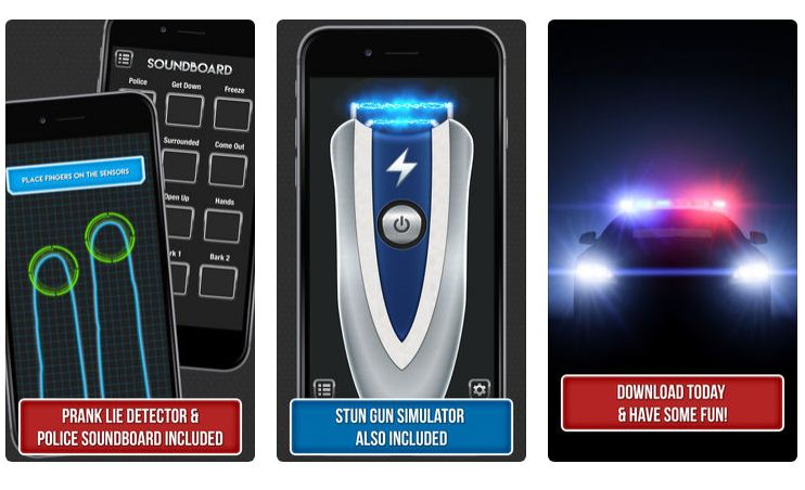 Best Police Siren App iPhone/Android