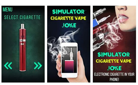 Best Virtual cigarette app Android/iPhone