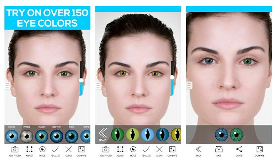 Best eye color changing app Android/iPhone