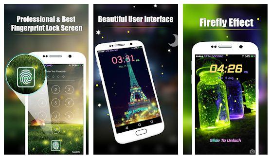 Best fingerprint lock screen prank apps Android/ iPhone 2021