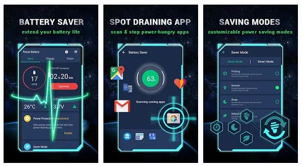 best battery saver apps Android/ iPhone
