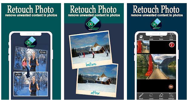 best remove object from photo app Android/ iPhone