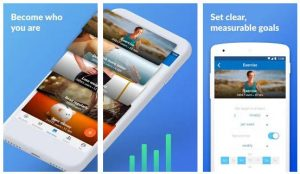 goal planning tracking apps Android/ iPhone