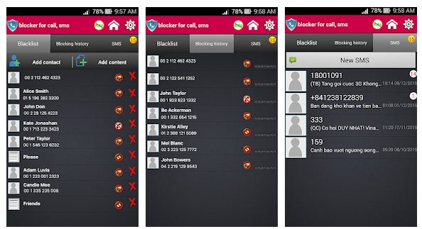 Best SMS blocker apps Android/iPhone