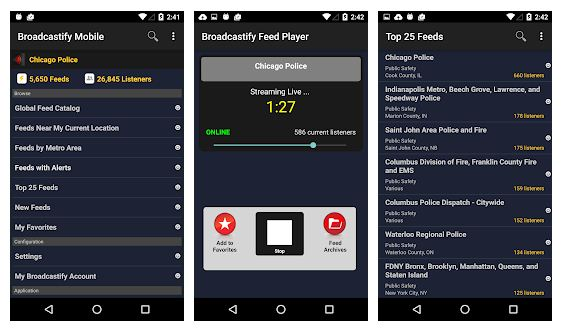 Best police scanner apps Android/ iPhone