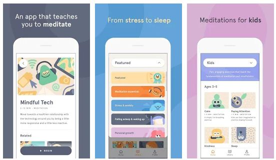 Best meditation apps Android /iPhone