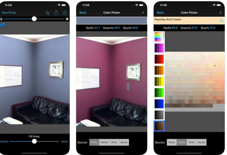 Best paint my house apps Android / iPhone