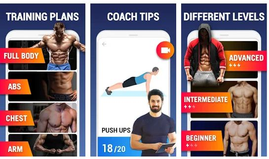 Best six pack abs apps Android/iPhone