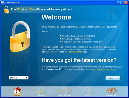 best free excel password recovery software 2019
