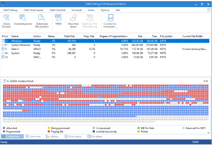 free disk defragmenter for windows 7