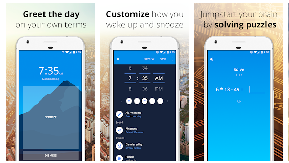 Best Alarm clock Apps Android/ iPhone