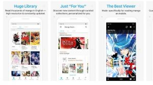 Best Manga reader apps Android