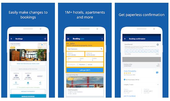 Best Hotel Booking Apps Android/ iPhone