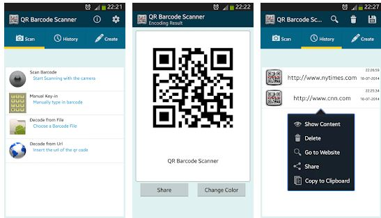 Best QR code Scanner Apps Android/ iPhone