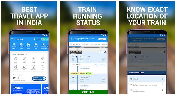 Top 10 Best Railway Ticket Booking Apps (android/iPhone) 2019
