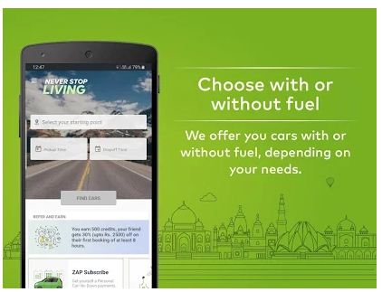 Best Self driving car Booking Apps Android & iPhone