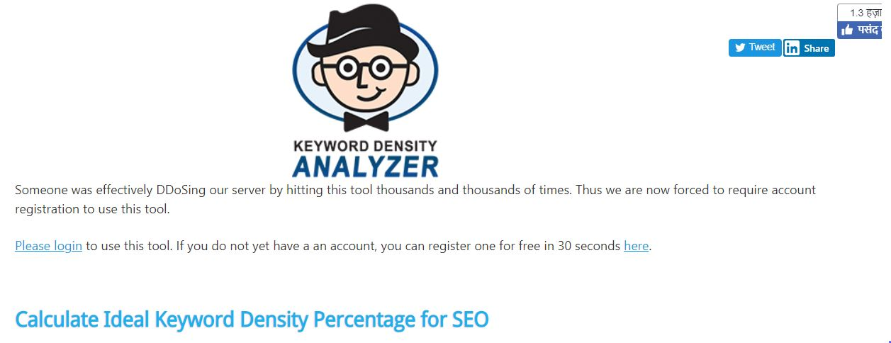Best Keyword Density Checker Tools