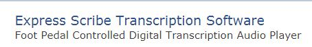 Best Transcription Software Mac