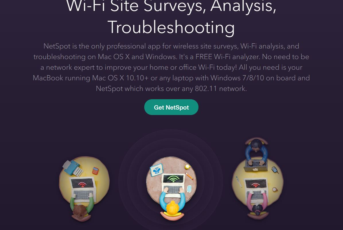 Best WiFi Analyzer Software window