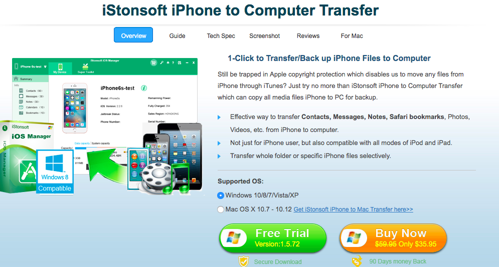 Top 10 Transfer Software transferring Files From iPhone to