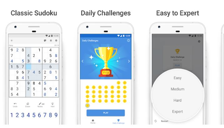 Best Sudoku Games Android/ iPhone