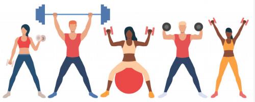 fitness hashtags 2019