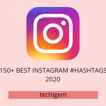 150+ Best Instagram #Hashtags list 2020 (Boy's/Girl/'s)