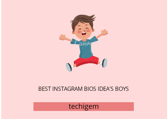 instagram bios ideas's boy's