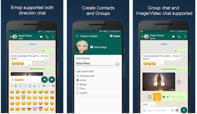 Best Fake Text Messages Generator Apps Android/ iPhone