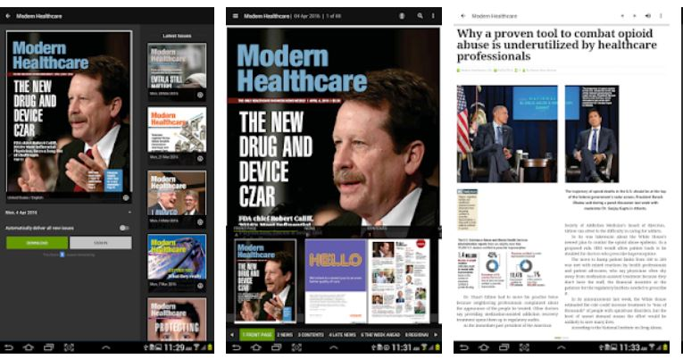 Best Magazine Apps Android/ iPhone