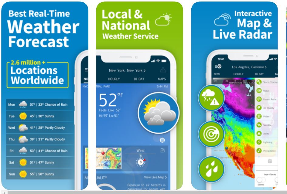 Best Weather Alert Apps Android/ iPhone