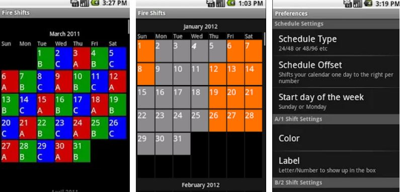 15 Best Work Shift Calendar Apps Android Iphone 2020