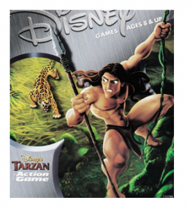 Tarzan action game – pc