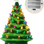 15 Battery Operated Ceramic Christmas Tree 2021